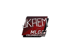 Skin Sticker | jkaem | MLG Columbus 2016