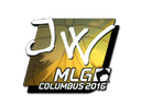 Sticker | JW (Foil) | MLG Columbus 2016