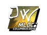 Skin Sticker | JW (Foil) | MLG Columbus 2016