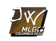 Sticker JW | MLG Columbus 2016