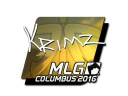 Sticker | KRIMZ (Foil) | MLG Columbus 2016