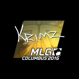KRIMZ (Foil) | MLG Columbus 2016