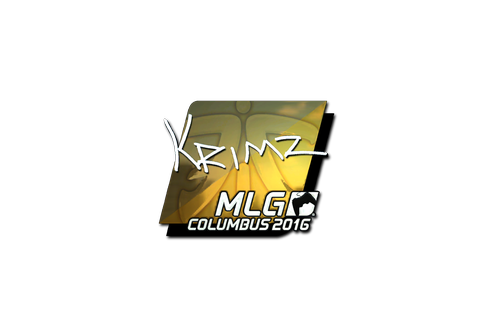 Buy Sticker | KRIMZ (Foil) | MLG Columbus 2016