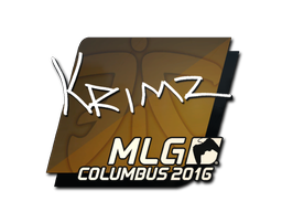 Sticker | KRIMZ | MLG Columbus 2016