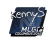 Sticker kennyS | MLG Columbus 2016