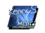 Skin Sticker | kennyS (Foil) | MLG Columbus 2016