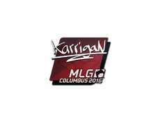 Skin Sticker | karrigan | MLG Columbus 2016
