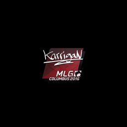 Sticker | karrigan | MLG Columbus 2016