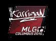 Sticker karrigan | MLG Columbus 2016