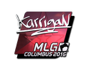 Sticker | karrigan (Foil) | MLG Columbus 2016