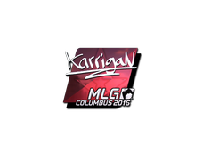 Skin Sticker | karrigan (Foil) | MLG Columbus 2016