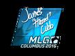 Sticker hazed (Foil) | MLG Columbus 2016