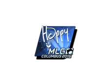 Skin Sticker | Happy (Foil) | MLG Columbus 2016