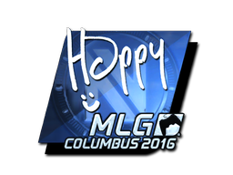 Sticker | Happy (Foil) | MLG Columbus 2016