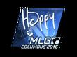Sticker Happy (Foil) | MLG Columbus 2016