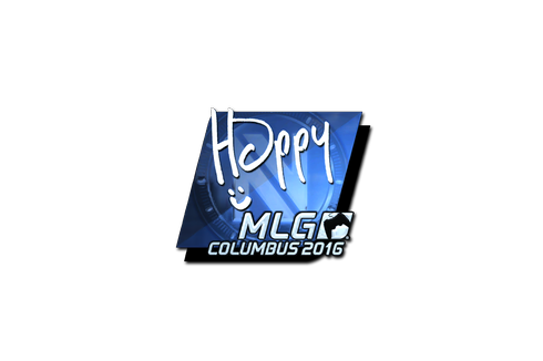 Sticker | Happy (Foil) | MLG Columbus 2016 Prices