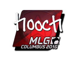 Sticker | hooch (Foil) | MLG Columbus 2016