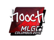 Sticker hooch (Foil) | MLG Columbus 2016