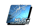 Sticker | Hiko (Foil) | MLG Columbus 2016