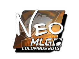 Sticker | NEO (Foil) | MLG Columbus 2016