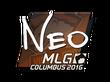Sticker NEO | MLG Columbus 2016