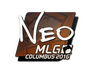 Skin Sticker | NEO | MLG Columbus 2016