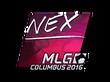 Sticker nex (Foil) | MLG Columbus 2016