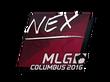 Sticker nex | MLG Columbus 2016