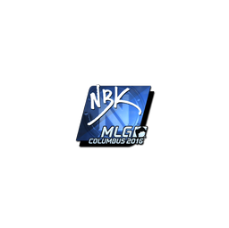 Sticker | NBK- (Foil) | MLG Columbus 2016