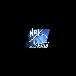 Sticker | NBK- (Foil) | MLG Columbus 2016