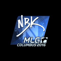 NBK- (Foil) | MLG Columbus 2016