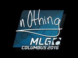 n0thing | MLG Columbus 2016