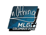 Skin Sticker | n0thing | MLG Columbus 2016