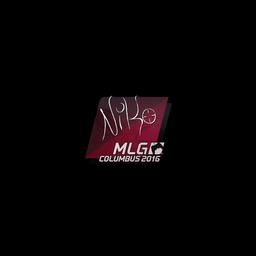 Sticker | NiKo | MLG Columbus 2016
