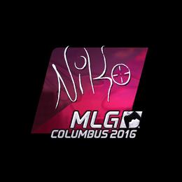 NiKo (Foil) | MLG Columbus 2016