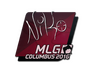 Skin Sticker | NiKo | MLG Columbus 2016