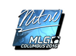 Sticker nitr0 (Foil) | MLG Columbus 2016