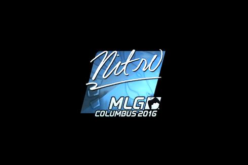 Sticker | nitr0 (Foil) | MLG Columbus 2016 Prices