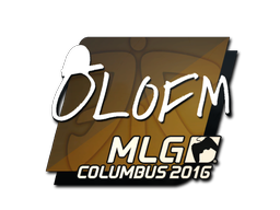 Sticker | olofmeister | MLG Columbus 2016