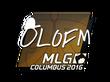 Sticker olofmeister | MLG Columbus 2016