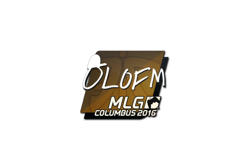 Sticker | olofmeister | MLG Columbus 2016 Prices