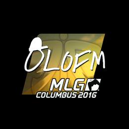 olofmeister (Foil) | MLG Columbus 2016