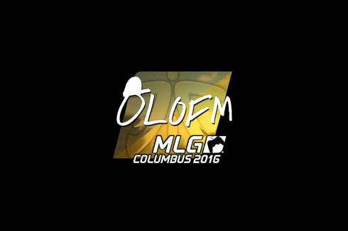 Sticker | olofmeister (Foil) | MLG Columbus 2016 Prices