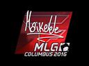 Sticker   Maikelele (Foil)   MLG Columbus 2016