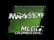 Sticker markeloff | MLG Columbus 2016