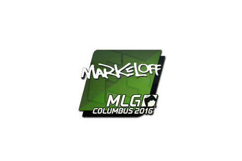 Sticker | markeloff | MLG Columbus 2016 Prices