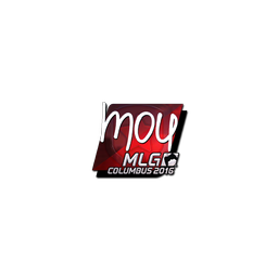 Sticker | mou (Foil) | MLG Columbus 2016