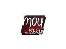 Skin Sticker | mou | MLG Columbus 2016