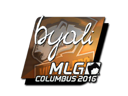 Sticker | byali (Foil) | MLG Columbus 2016