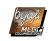 Sticker byali (Foil) | MLG Columbus 2016